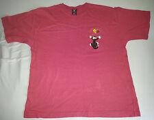 Warner Bros Studio Store LOONEY TUNES TWEETY & SYLVESTER T-Shirt Taglia L Rosa