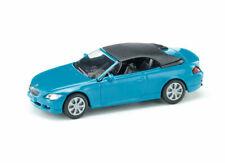 Siku Diecast Metal Mini Car #1007 BMW 645i Convertible Sport Blue MISB