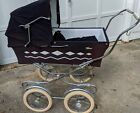 Antique Vintage 1972 Giuseppe Perego Italian Stroller Carriage Buggy Pram