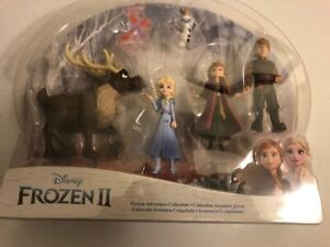 Disney Frozen 2 Adventure Collection w/Anna, Elsa, Olaf--New Item, Ships Fast