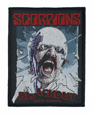 SCORPIONS - Blackout  - Official Woven Patch