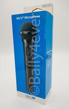 Microphone Nintendo Wii U Officiel NEUF Noir
