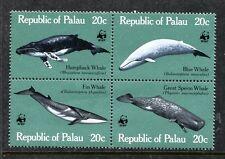 Palau 27a, MNH. Marine Life, Whale 1983 WWF.  x18884