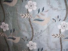 "HARLEQUIN ""NADINA SILK"" 1.3 metres curtain designer fabric  DUCKEGG BLUE"