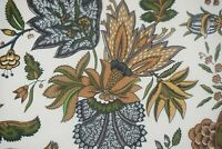 Pierre Deux Fabric for KRAVET Tamarind Moutarde Cotton Fabric Sold by the yard!