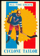 1960 61 TOPPS HOCKEY 46 Cyclone Taylor EXNM All-Time Great VANCUVER MILLIONAIRES