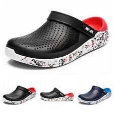 Mens Summer Beach Garden Clogs Sports Pool Shoes Slip On Mules Sandals Slipper B