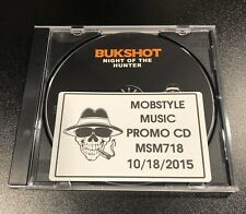 "Bukshot ""Night Of The Hunter� Promo Cd • Project Born, Twisted Insane"