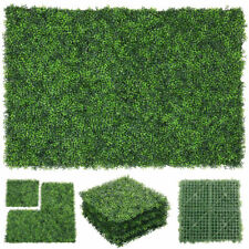 Artificial Plant Foliage Hedge Grass Greenery Panel Decoration Wall Fence 20