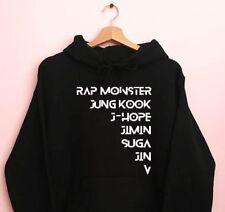 BTS Members Hoodie/bts kpop/bts v/bts jungkook/bts wings/bts merch/bts army/Suga