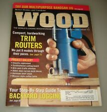 Wood Magazine - March 1999 - Country-Fresh Nightstand - Bandsaw Multi-Jig....