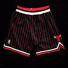 100% Authentic Mitchell Ness Bulls Pinstripe NBA Shorts Size L 44 - jordan