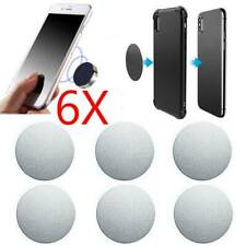 6 Pack Metal Plates Sticker Replace For Magnetic Car Mount Magnet Phone Holder