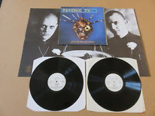 PSYCHIC TV Force The Hand Of Chance 2x LP & POSTER ORIGINAL UK 1ST PRESSING PSY1