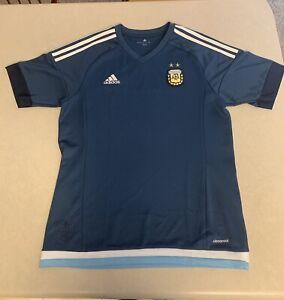 2015 adidas argentina afa jersey,Size MEDIUM,Soccer Apparel,Messi,Sports Jersey
