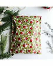 Christmas Festive Design 10x13 poly mailers 100 pack