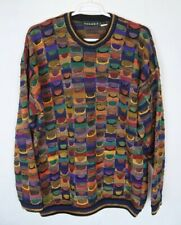Tundra Colorful Cotton Sweater Biggie Cosby Style Men's Size XLT