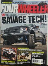 Four Wheeler Aug 2017 Savage Tech 20 Cutting Edge 4x4 Products FREE SHIPPING sb