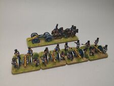 Prussian Artillery Battery 12£ 1813-15 Napoleonic Wars 15mm Pro Painted