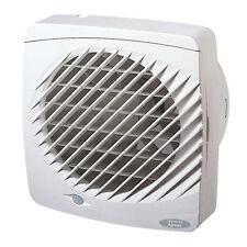 Humidistat Bathroom Fan with Automatic Shutters Greenwood EL100HTR