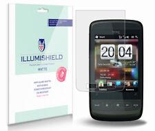 iLLumiShield Matte Screen Protector w Anti-Glare/Print 3x for HTC Touch2