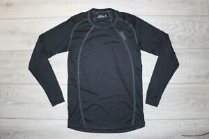 OMM LONG-SLEEVED THERMAL BASE LAYER TOP S SMALL BLACK