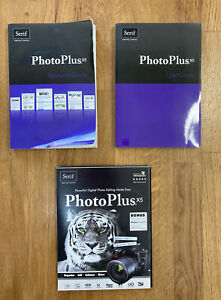 Serif Photoplus X5 User guide, resource guide & 2 DVD rom's