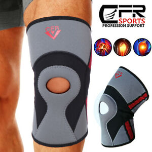 Knee Support Brace Compression Patella Sleeve Gym Running Arthritis Joint Relief