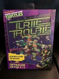 New Teenage Mutant Ninja Turtles Portfolio Case for iPad 2 & 3