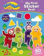 Teletubbies My First Sticker Book Paperback Activity Kids Puzzles Games NEW Xmas