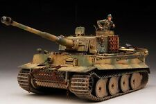 Award Winner Built Dragon 1/35 Tiger I Early Production+Resin Figure/PE