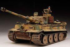 Award Winner Built Dragon 1/35 Tiger I Early Production+Resin Figure/PE