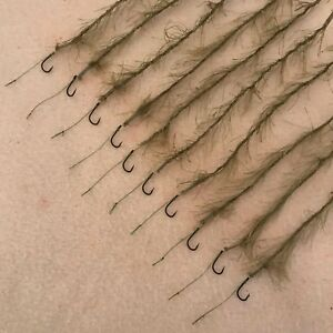 10x ADJUSTABLE WEED EFFECT HAIR RIGS VARIATIONS FLYNSCOTSMAN TACKLE FISHING CARP