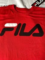 Red Fila Large T-Shirt