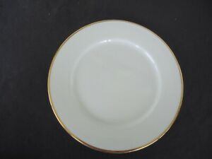 maxwell & williams  white gold plate salad bread & butter