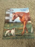 REEVES INTERNATIONAL BREYER HORSE TOY CATALOGUE YEAR 1999 Mid Year