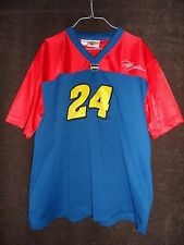 JEFF GORDON 24 Used NASCAR Winner's Circle Embroidered Blue Jersey Large DuPont