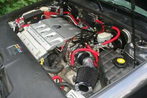 Short Ram Air Intake Kit+BLACK Filter for 98-04 Cadillac Seville SLS/STS 4.6L V8
