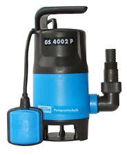 Güde Schmutzwassertauchpumpe GS4002P mit var.Schwimmerschalter