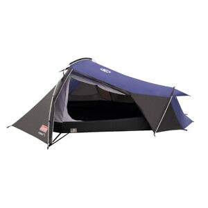 Coleman Grey & Blue Cobra 3 Person Tent