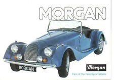 Morgan 4/4 2 & 4 seater & Plus 8 1976-77 Original UK Sales Brochure