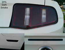 2010-2012 Mustang precut Tail light Side Marker 3rd brakelight Overlays tint set