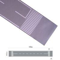 H0 100cm gerade Straße Beton grau Straßenfolie selbstklebend