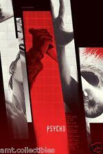 Psycho - Alfred Hitchcock - Limited Edition Poster Print Screenprint Kevin Tong