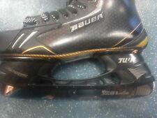 Pro STEP BLACK Velocity Steel blades Bauer CCM Reebok Easton Hockey skate blades