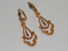 Ohrringe Vintage Earrings Küpe,Damen ohr schmuck sammler objekt sehr schön!