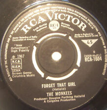 """MONKEES - Forget That Girl ~ 7"""" Single"""