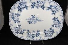 "Villeroy Boch Mettlach ElGE I107 16 1/4"" Flow Blue Platter"
