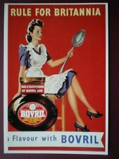 POSTCARD  FLAVOUR WITH BOVRIL - RULE FOR BRITANNIA