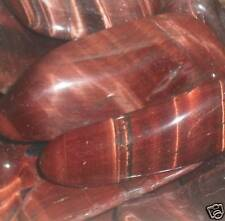 Tigres oeil rouge brillant tumblestone pierres précieuses Cristal 3!!